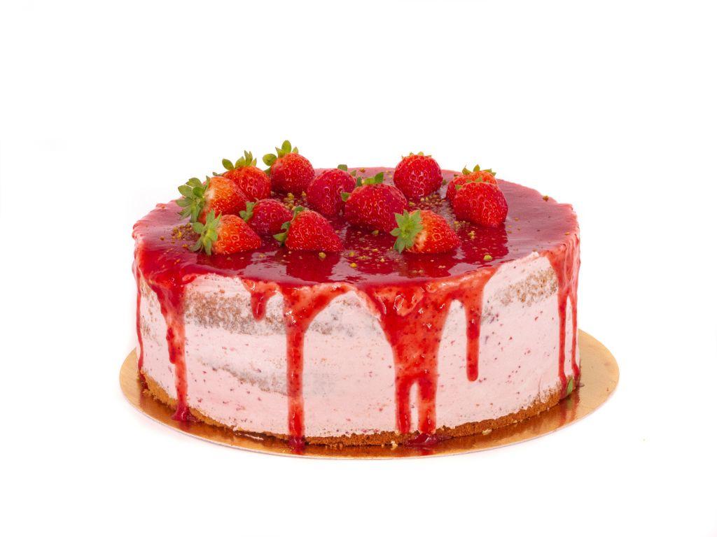 Obrázek - AKCE KVĚTEN - Jahodový dort
