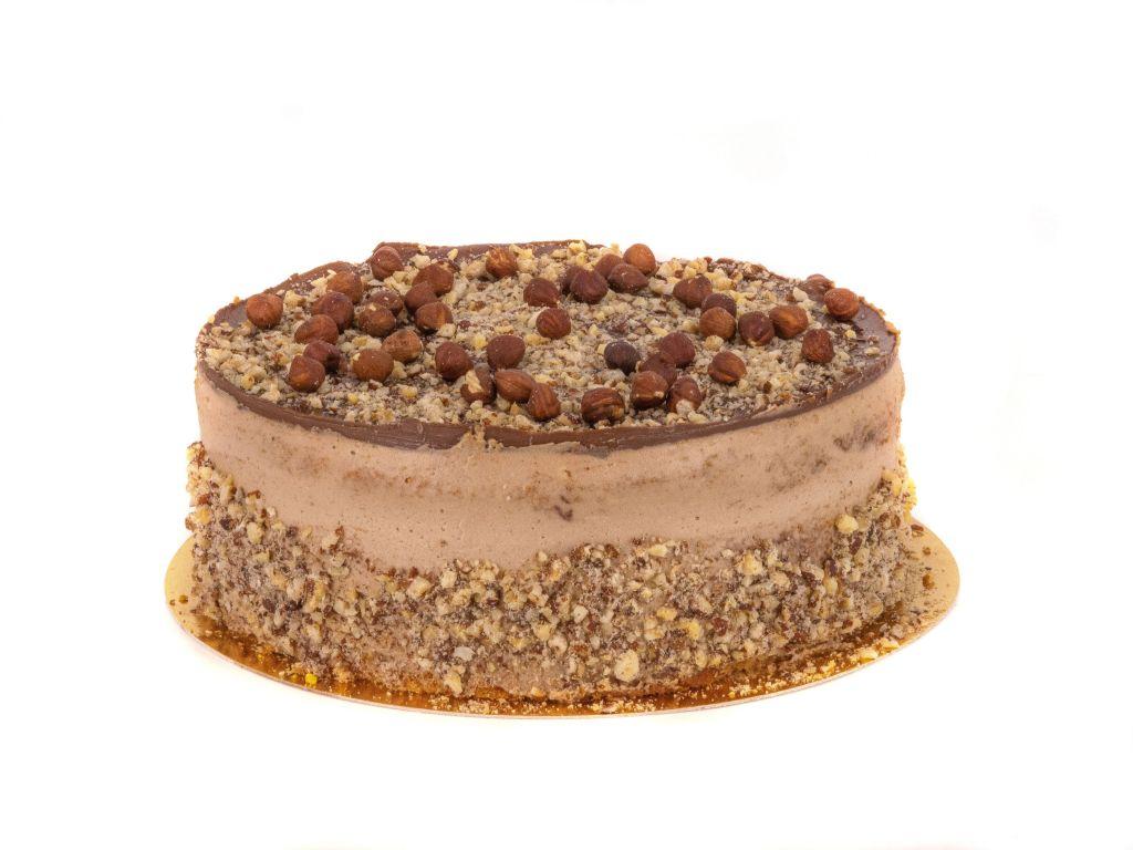 Obrázek - Oříškový dort