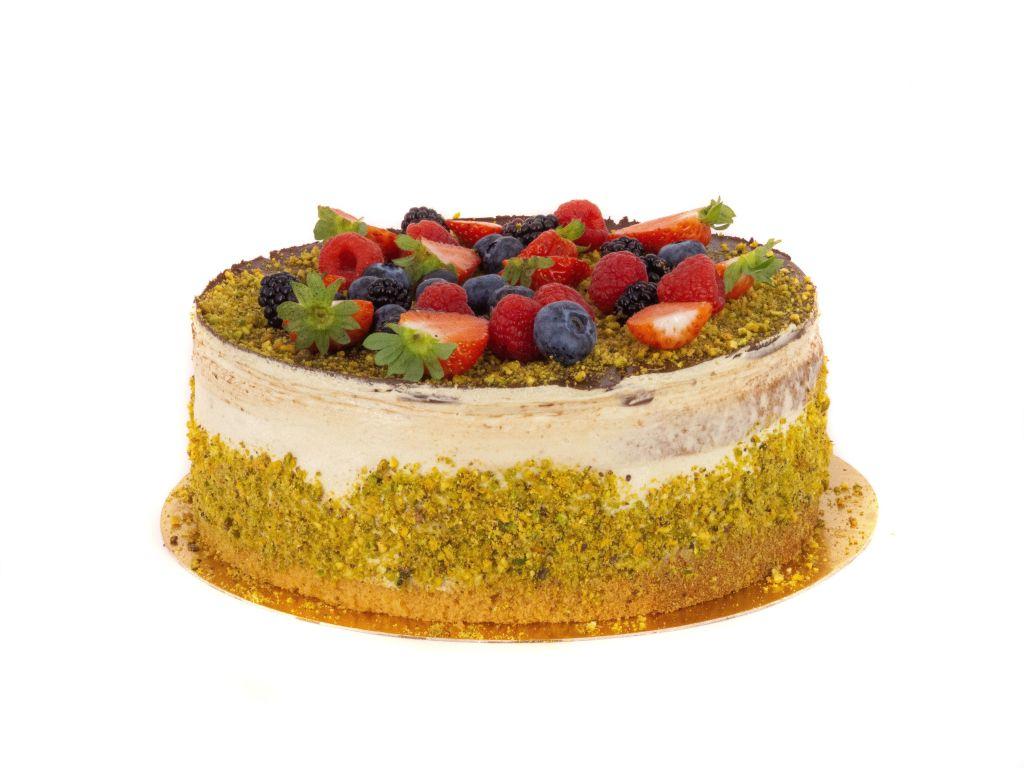 Obrázek - Pistáciový dort