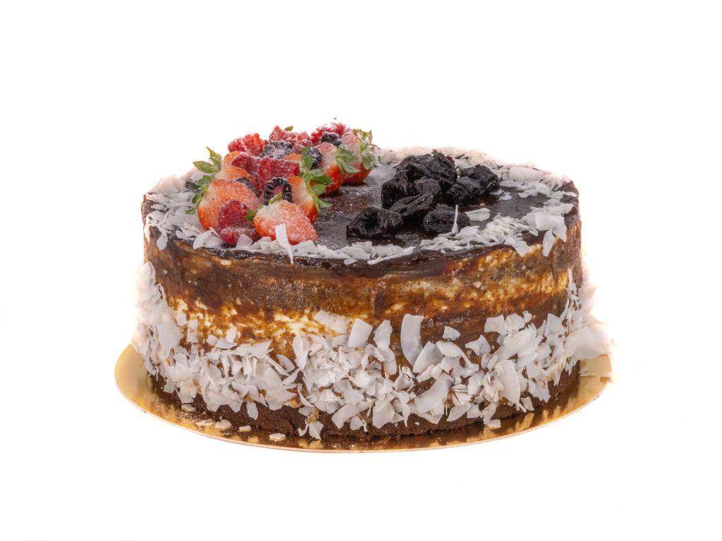 Obrázek - Kokos povidla dort