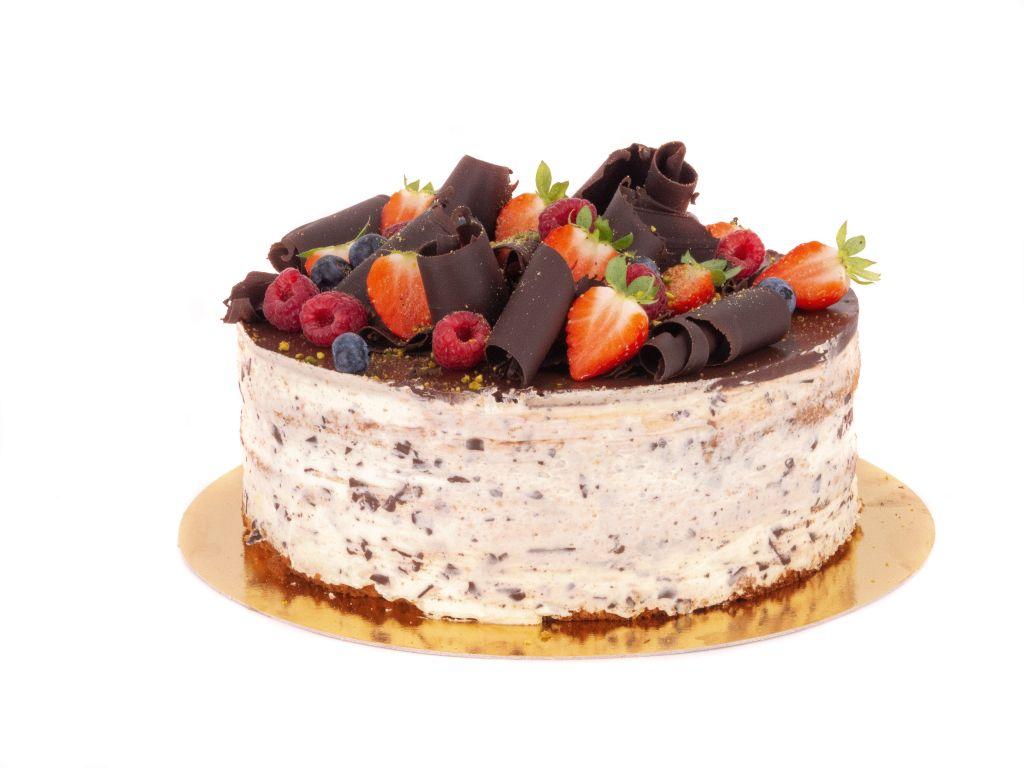 Obrázek - Stracciatella dort