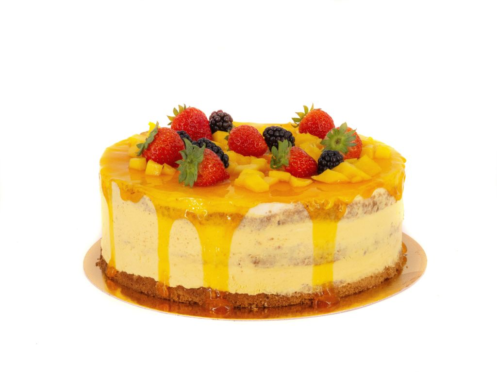 Obrázek - Mango dort