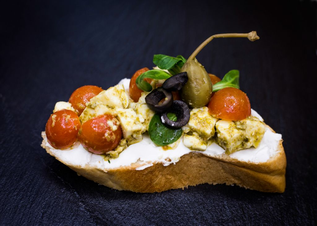 Obrázek - Caprese chlebíček