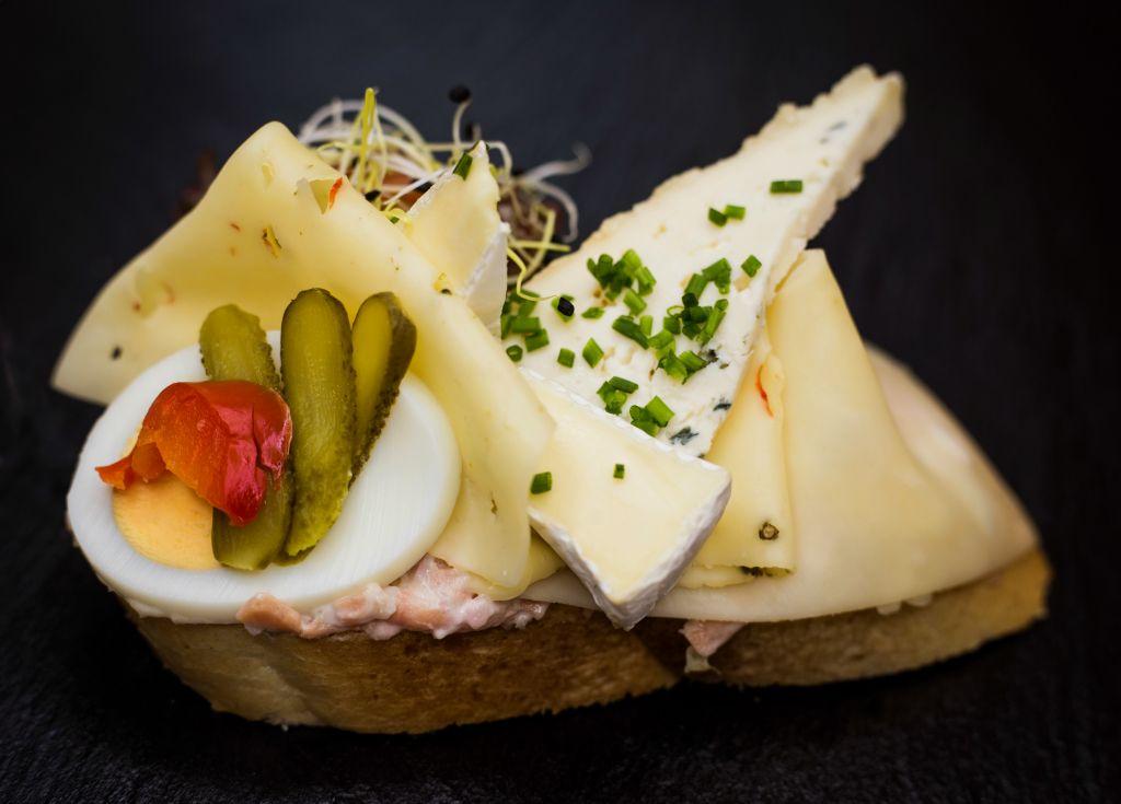 Obrázek - Sýrový chlebíček paříž