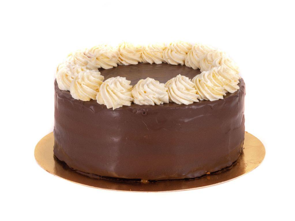Obrázek - Smetanový Sachr dort