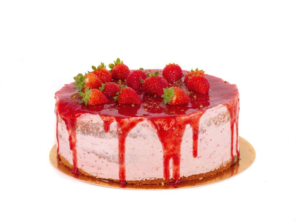 Obrázek - Jahodový dort