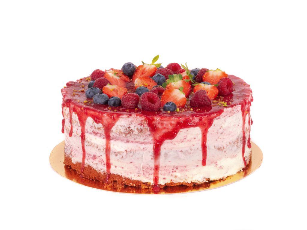 Obrázek - Malinový dort