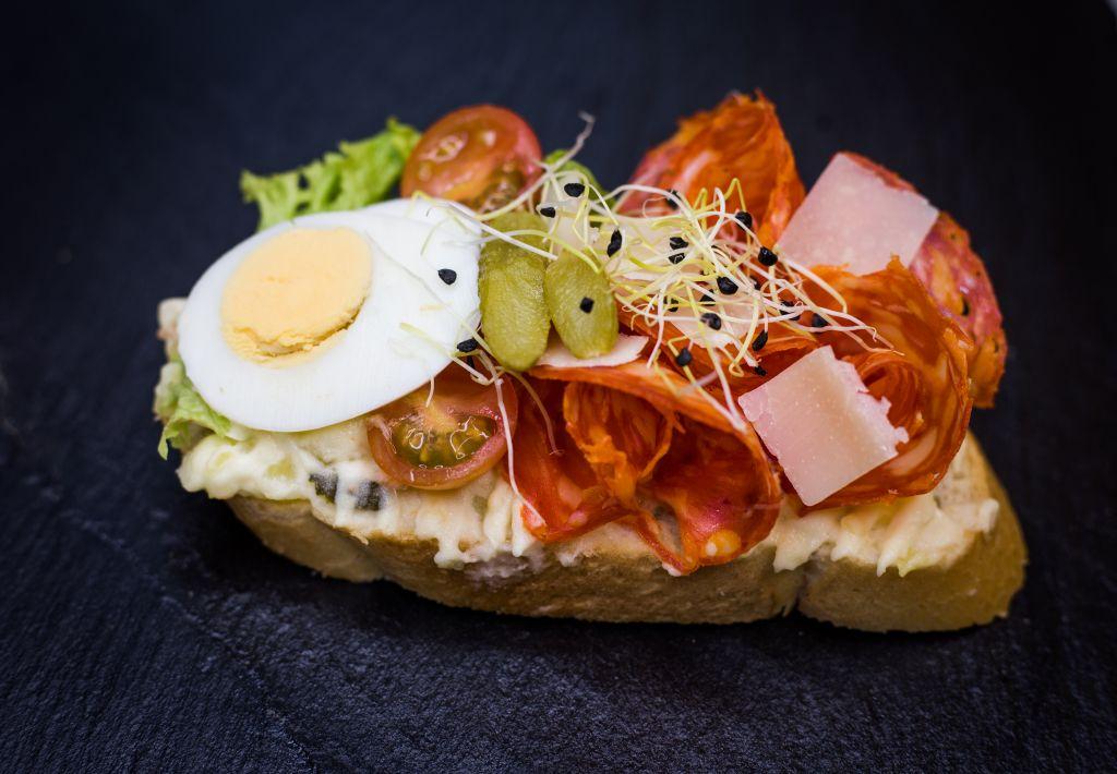 Obrázek - Chorizo chlebíček